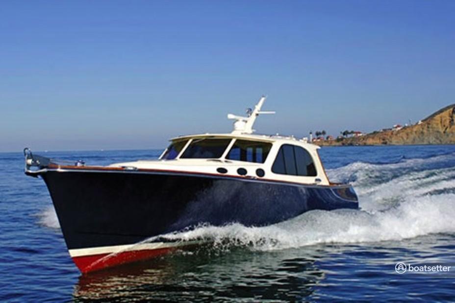 Rent a Palm Beach Marinecraft motor yacht in Nantucket, MA near me