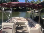 25 ft. Riviera Cruiser FDL-2422 LTD Pontoon Boat Rental Charlotte Image 1