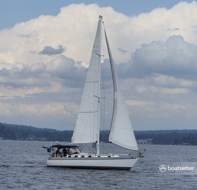 Rent a Endeavour Cat sloop in Seattle, WA near me