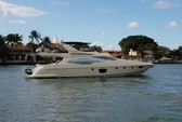 68 ft. Azimut Yachts 68 Plus Cruiser Boat Rental Miami Image 9