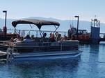 24 ft. Sun Tracker by Tracker Marine Party Barge 22 DLX w/115ELPT 4-S Pontoon Boat Rental Rest of Southwest Image 7