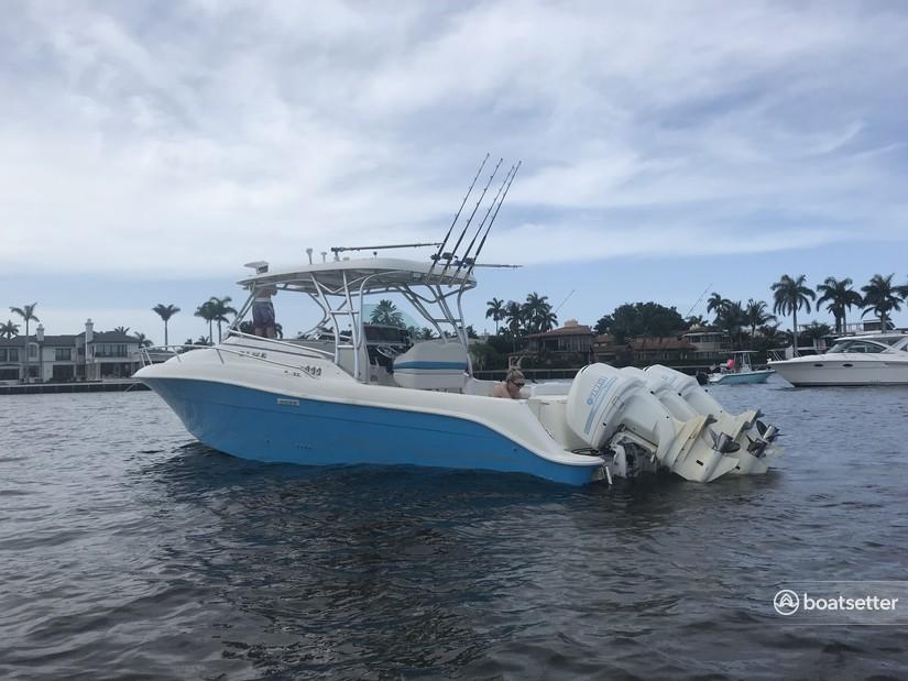 Rent a Hydrasports Boats cuddy cabin in Dania Beach, FL near me