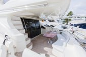 65 ft. Azimut Yachts 62 Flybridge Boat Rental Miami Image 4