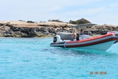 30 ft. Sacs Samurai 870 Rigid Inflatable Boat Rental Eivissa, Illes Balears Image 13