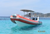 30 ft. Sacs Samurai 870 Rigid Inflatable Boat Rental Eivissa, Illes Balears Image 16