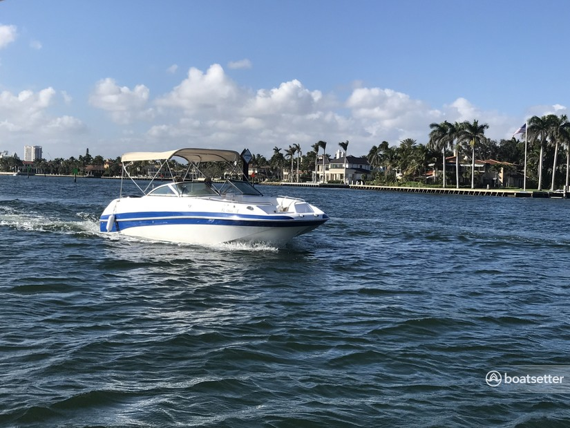 Rent a NauticStar Boats deck boat in Fort Lauderdale, FL near me