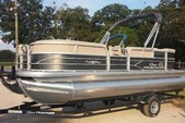 22 ft. Sun Tracker by Tracker Marine Party Barge 20 DLX w/90ELPT 4-S Pontoon Boat Rental Fort Myers Image 2