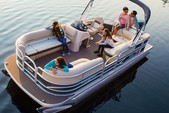 22 ft. Sun Tracker by Tracker Marine Party Barge 20 DLX w/90ELPT 4-S Pontoon Boat Rental Fort Myers Image 1