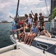 40 ft. Dragonfly Boats 1200 Ketch Boat Rental Miami Image 6