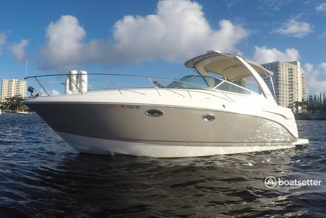 Rent a Chaparral Boats express cruiser in Boca Raton, FL near me