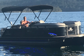 22 ft. Regency Pontoon 254 LE3 Regency w/250L Verado Pontoon Boat Rental Seattle-Puget Sound Image 4