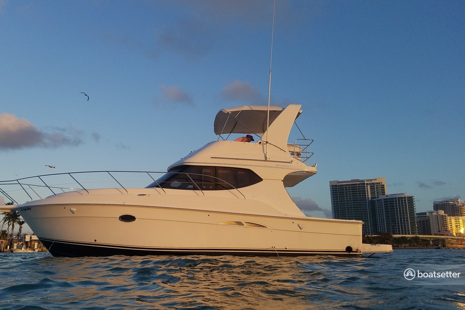 Rent a Silverton Marine convertible in Fort Lauderdale, FL near me