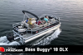 20 ft. Sun Tracker by Tracker Marine Bass Buggy 18 DLX w/60ELPT 4-S Pontoon Boat Rental Rest of Southwest Image 1
