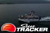 20 ft. Sun Tracker by Tracker Marine Bass Buggy 18 DLX w/60ELPT 4-S Pontoon Boat Rental Rest of Southwest Image 2