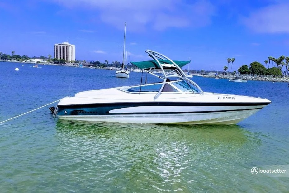 Rent a Chaparral Boats bow rider in San Diego, CA near me