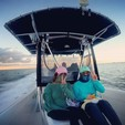 25 ft. Blue Water Boats Voyager Center Console Boat Rental Miami Image 3