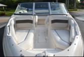 19 ft. Rinker Boats 192 Captiva Bowrider Bow Rider Boat Rental Miami Image 2
