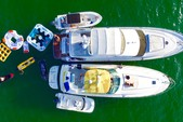 58 ft. Sea Ray Boats  65' Princess Cruiser Boat Rental Miami Image 3