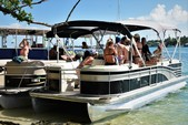 28 ft. Bennington Marine 2575RCW IO Pontoon Boat Rental Miami Image 4