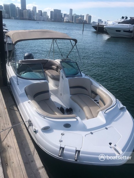 Rent a Hurricane Boats bow rider in Key Biscayne, FL near me