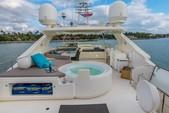 88 ft. Ferretti Yachts Mega Yacht Boat Rental Miami Image 4