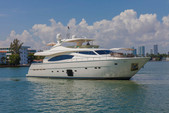 88 ft. Ferretti Yachts Mega Yacht Boat Rental Miami Image 6