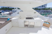 88 ft. Ferretti Yachts Mega Yacht Boat Rental Miami Image 7