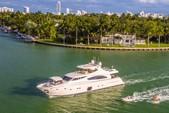 88 ft. Ferretti Yachts Mega Yacht Boat Rental Miami Image 9