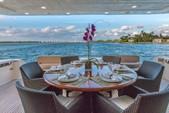 88 ft. Ferretti Yachts Mega Yacht Boat Rental Miami Image 10