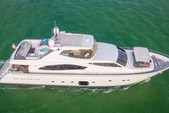 88 ft. Ferretti Yachts Mega Yacht Boat Rental Miami Image 16