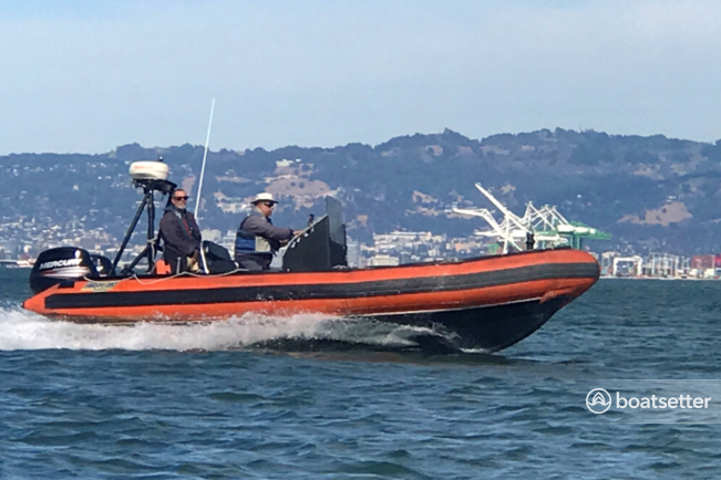 Rent a Zodiac of North America rigid inflatable in San Francisco, CA near me