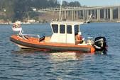 27 ft. Fletcher RIB Rigid Inflatable Boat Rental San Francisco Image 1