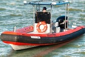 27 ft. Fletcher RIB Rigid Inflatable Boat Rental San Francisco Image 3