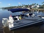 23 ft. Beachcat Boats 23 Family Cat Pontoon Boat Rental Daytona Beach  Image 1