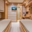 100 ft. 97' Ferretti 97' Ferretti Motor Yacht Boat Rental Miami Image 16