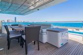 100 ft. 97' Ferretti 97' Ferretti Motor Yacht Boat Rental Miami Image 24