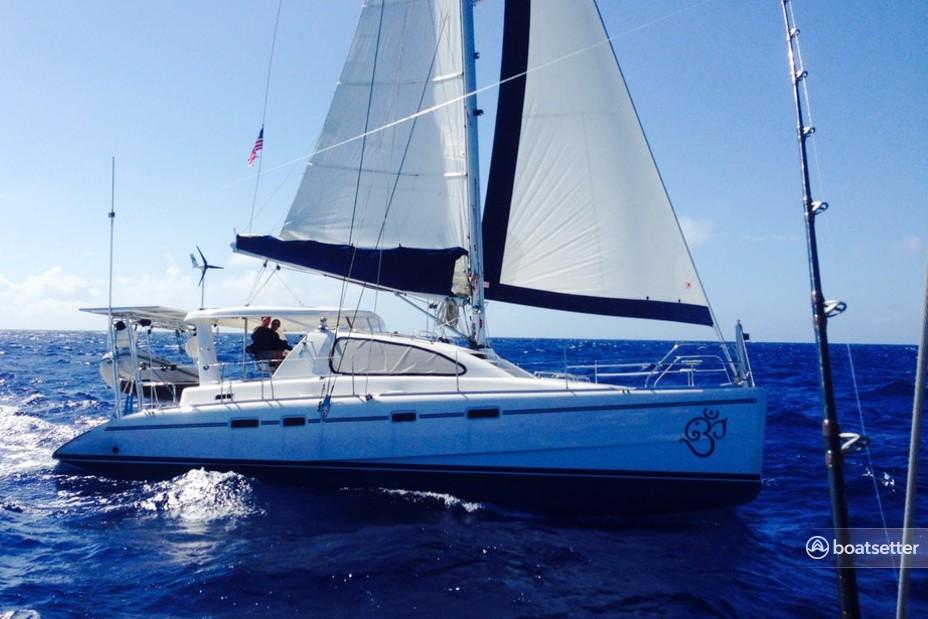 Rent a Leopard catamaran in Mount Pleasant, SC near me