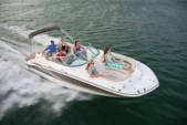 24 ft. Deck Boat 24 Cruiser Boat Rental Miami Image 6