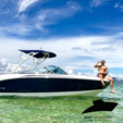 21 ft. Chaparral Boats 216 SSi Ski And Wakeboard Boat Rental Miami Image 1