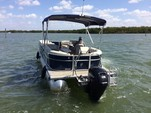 23 ft. Cypress Cay Seabreeze .   Pontoon Boat Rental Fort Myers Image 2
