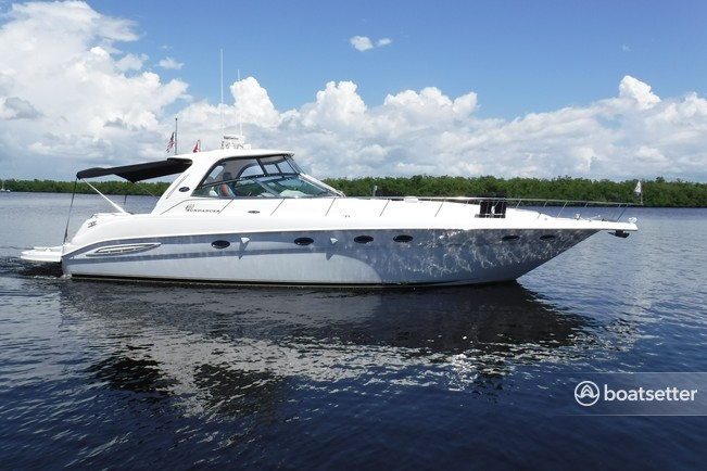 Rent A 2001 45 Ft Sea Ray Boats 460 Sundancer In Fort Myers Beach Fl On Boatsetter