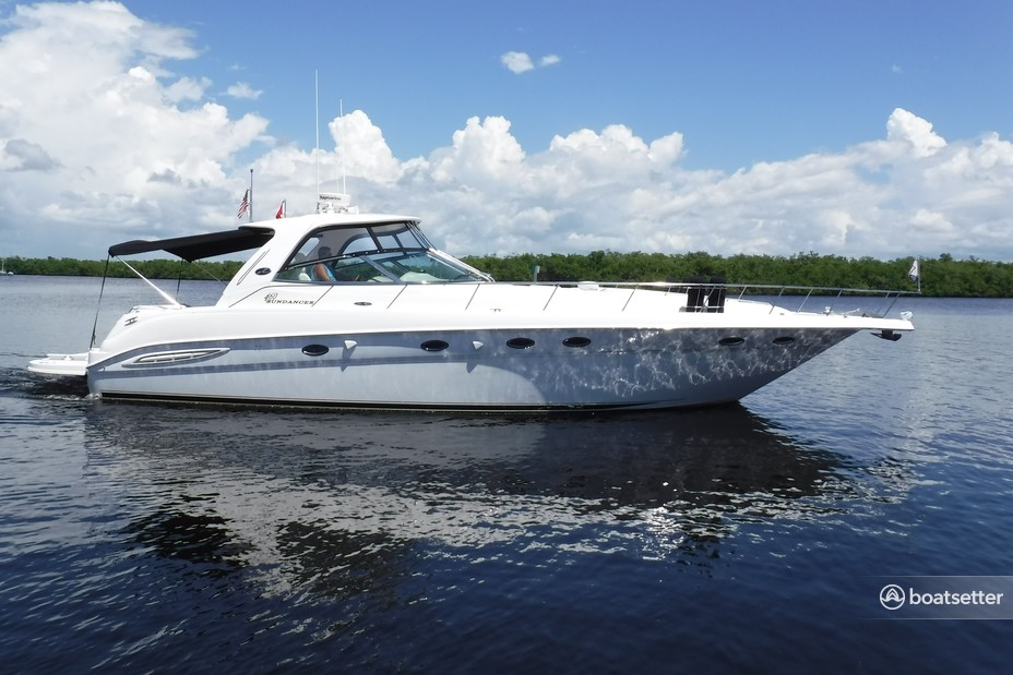 Rent a Sea Ray Boats express cruiser in Fort Myers Beach, FL near me