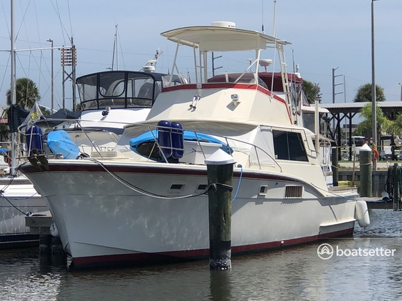 Rent a Hatteras Yachts convertible in Patrick Air Force Base, FL near me