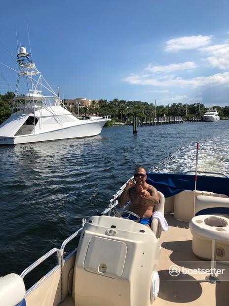 Rent a Godfrey Marine pontoon in Pompano Beach, FL near me