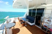 76 ft. Lazzara Marine 76 Motor Yacht Boat Rental Fort Myers Image 6