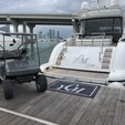 72 ft. Mangusta Maxi Open Motor Yacht Boat Rental Miami Image 12