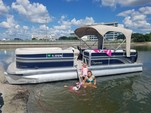24 ft. Premier Marine 240 SunSation RE Triple Tube Pontoon Boat Rental Tampa Image 2