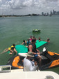 40 ft. Silverton Marine 38 Convertible Mega Yacht Boat Rental Miami Image 11