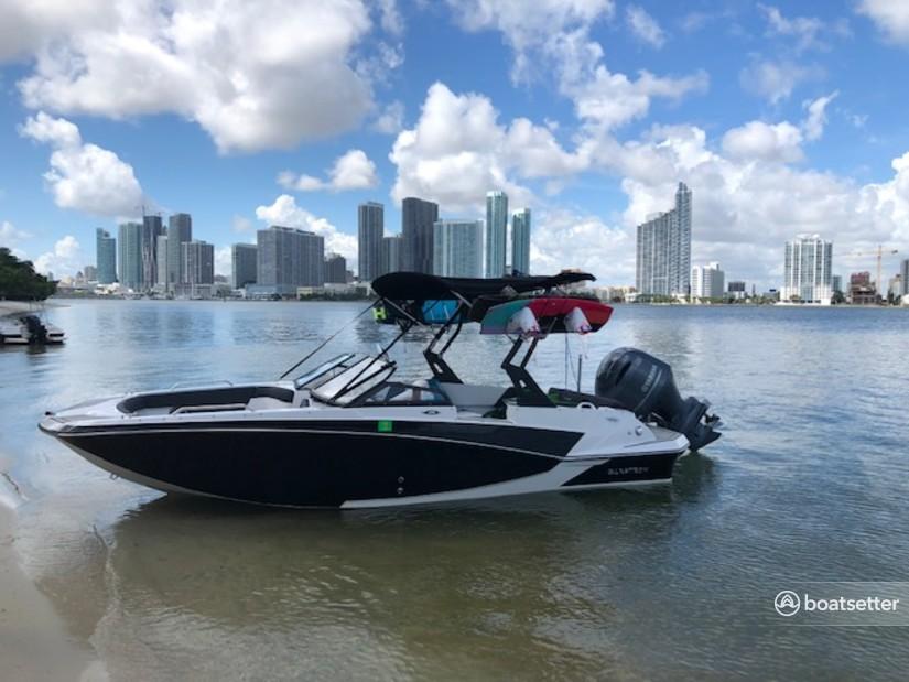 Rent a Glastron Boats ski and_wakeboard in Miami Beach, FL near me