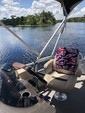 22 ft. Sun Tracker by Tracker Marine Party Barge 22 DLX w/115ELPT 4-S Pontoon Boat Rental Orlando-Lakeland Image 3